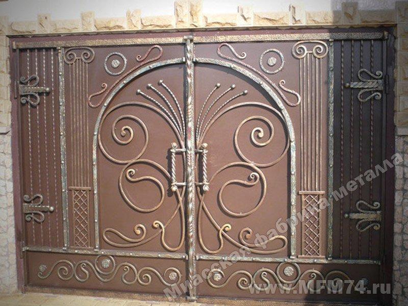 гаражные ворота из металла в спб